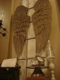 Let It Shine: Carved Angel Wings