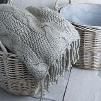 Knit this in natural colored wool