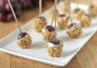 The Galley Gourmet: Blue Cheese and Walnut Dusted Grapes