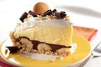 Peanut Butter-Chocolate Banana Cream Pie recipe