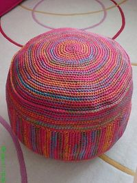 Crochet Sitting Bag