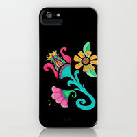 iphone case - Vintage Floral Embroidery