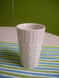 #ceramiccup #knitting #etsy