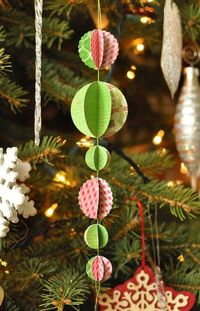 PaperOrnament or garland