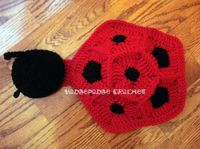 Lady bug photo prop