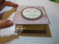 Post it note holder - tutorial