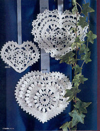 pattern for these lovely lacy hearts