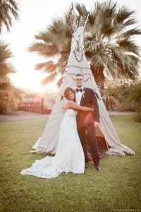 Bride's Dress from Casablanca Bridal