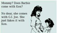 Barbie joke