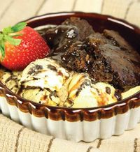 HOT FUDGE CAKE - my mom always made this when we were young and then lost her recipe. She found this one and it's just like the one she made. We used butter in place of margarine. :)