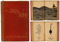 """Lady René"" font by Laura Varsky"