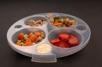 This plate is a great tool to help with portion control. It has 24 increments of measurements, including teaspoons, tablespoons, cups and ounces. Each compartment is removable for easy measuring. It can be used by anyone trying to understand portion contr...