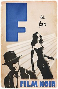 F is for film noir