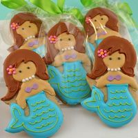 Mermaid Cookies!