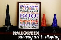 halloween subway art title