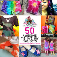 Cool 50 Awesome Tie Dye Projects