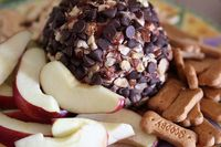 Nutella Cheese ball! Seriously!? I think I might be in heaven. Gonna have to give this one a try!