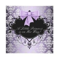 shower invitation http://www.zazzle.com/purple+baby+shower+invitations