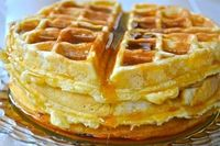 this waffle recipe is perfection