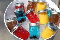 Put a Lid on It - Mason Jar Cocktails Individual cold drinks in cute mason jars are the addition to your next party!