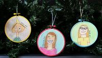 Self-portrait ornaments...