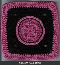 Button Granny Square