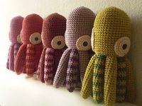 amigurumi octopus free pattern (not English)