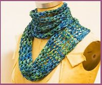 I wanted to offer a pattern to show that lace doesn t have to be difficult. This four-row pattern is easy to memorize, and very forgiving of mistakes. By Annika Barranti Pattern: http://www.knitculture.com/our-blog/free-pattern-easy-trellis-lace-scarf/ Fi...