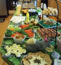buffet table ideas
