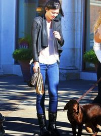 love her boots!