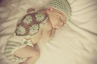 Love this turtle shell newborn outfit