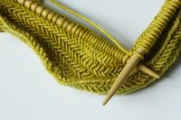What a lovely knitting stitch. What is it?