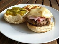 A Taste of Home Cooking: Cuban Burger