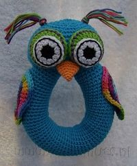 Owl rattle or something.
