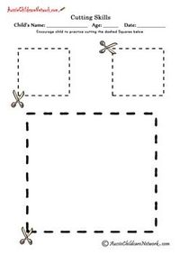It's just a graphic of Remarkable Printable Cutting Worksheets for Preschoolers