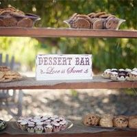 A cozy country wedding with a fabulous dessert table
