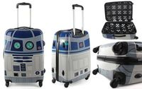 Star Wars R2-D2 rolling suitcase.