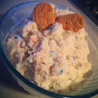 funfetti dip ... if I could figure out how to make it gluten-free. that would rock. thanks