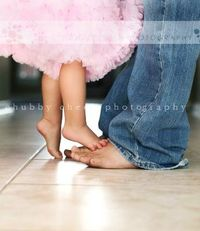 so cute for daddy and daughter
