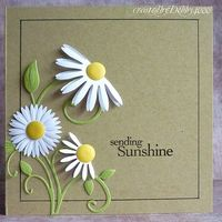 love the half-daisy idea!#repost By:Pinterest++ for iPad#