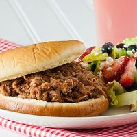 Smoky BBQ Pork Sandwich