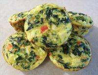 Vegetable Quiche Cups, southbeachdiet via food.com: Crustless, these can be eaten hot or cold and can also be frozen. #Quiche #southbeachdiet #food com