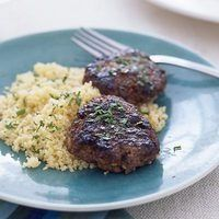 Moroccan Beef Patties and Couscous