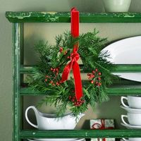 Decorate with Small Wreaths