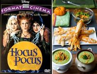 scary movies and dinners to go with