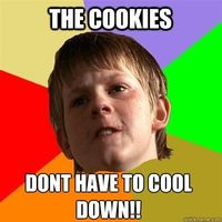 Angry School Boy - The Cookies DONT have to cool down!
