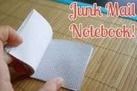How to Make a Notepad out of Junk Mail
