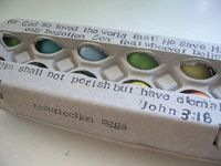 like the idea of the verse on the egg box