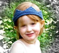 pattern for knit children's crown