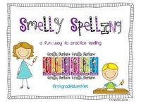 This is terrific for writing station spelling word practice. Using Smelly Markers, kids write their spelling words in a variety of fun and engagin...